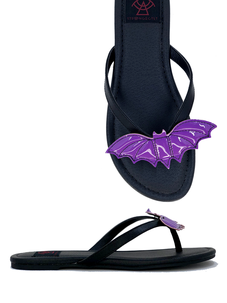 Bat Sandal Purple