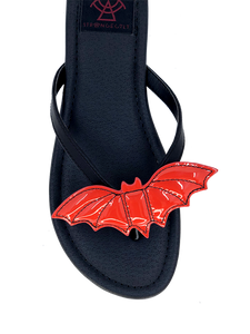 Bat Sandal Red