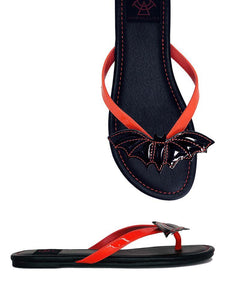 PRESALE SHIPS 6/20!! Betty Bat Sandal Red/black PRERSALE SHIPS 6/20!!