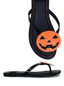 Betty Sandal Jack'o'lantern  Orange