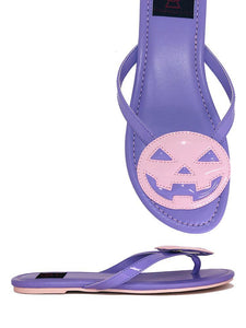 Betty Sandal Jack'o'lantern Pastel