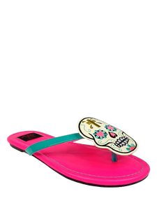 PRESALE SHIPS 11/15! Betty Muerte Hot Pink Sandal