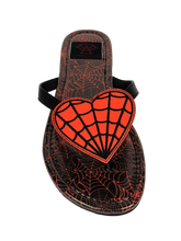 Betty Web Heart Red