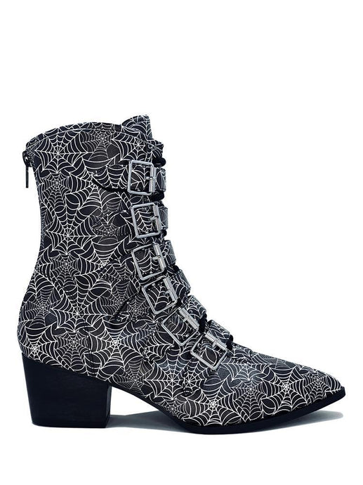 Coven Spider Web Boot