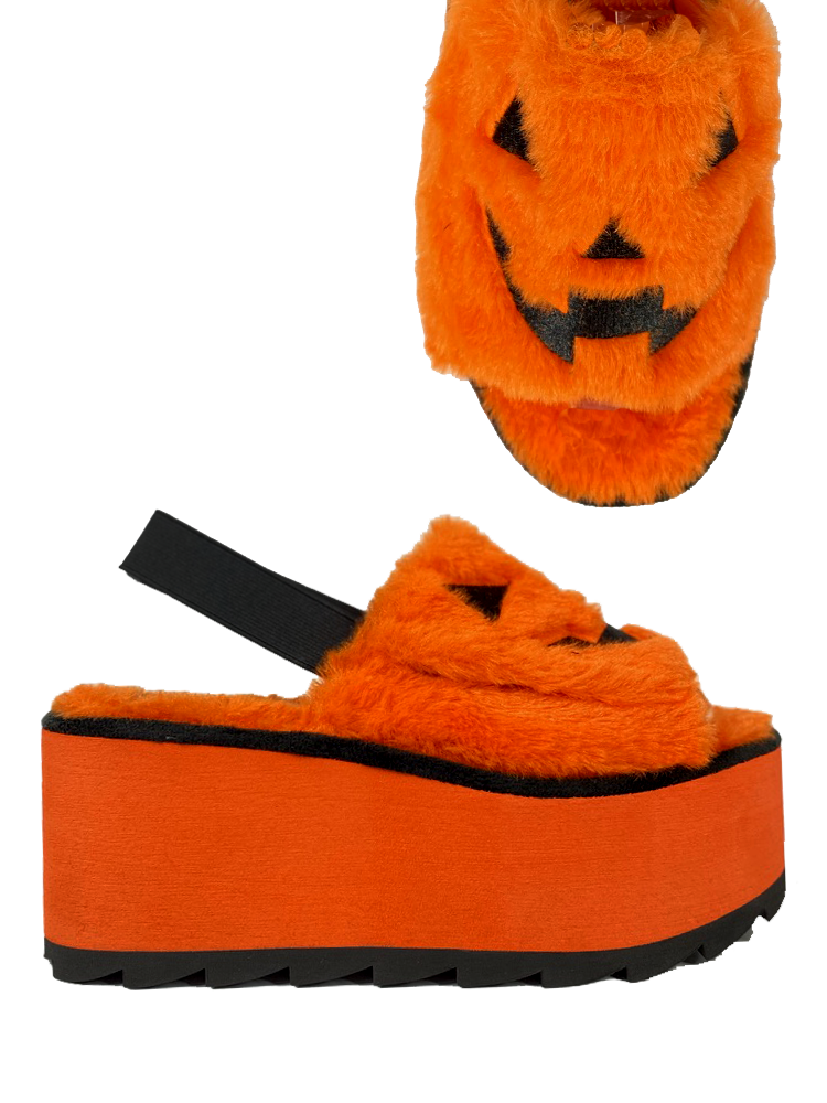 LILLY JACKOLANTERN - ORANGE/BLACK