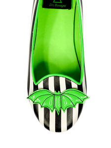 PRESALE SHIPS 9/8!! Lydia Bat Flat Striped Dre Beetle