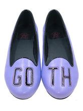 GOTH Flat pastel Purple/black