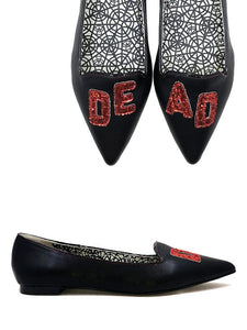 Dagger Dead Black Red