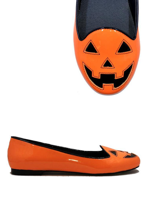 Lydia Jackolantern Orange Patent