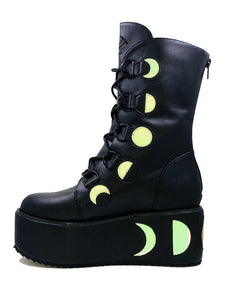 MYSTIK BOOT BLACK/REFLECTIVE