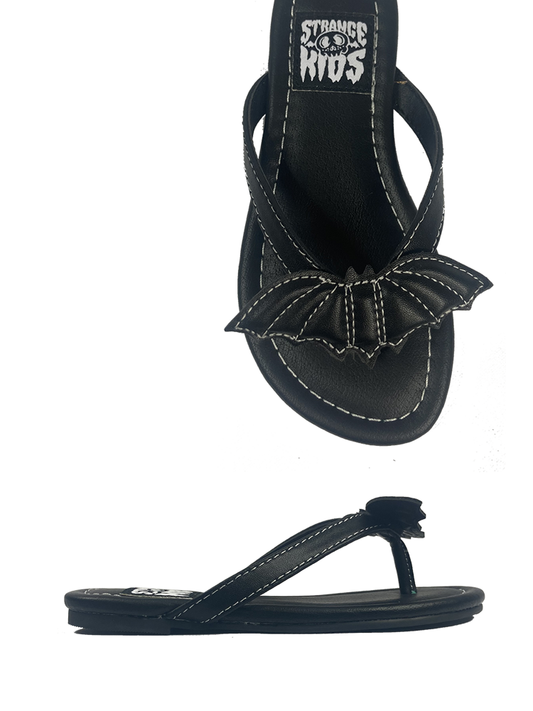 KIDS Betty Bat Sandal Black