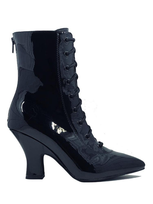 Victoria Patent Black boot