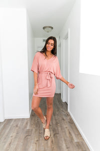 Be Mine Dress In Apricot