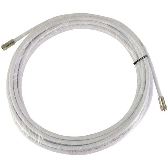 RG6 Low-Loss Coaxial Cable, 30ft