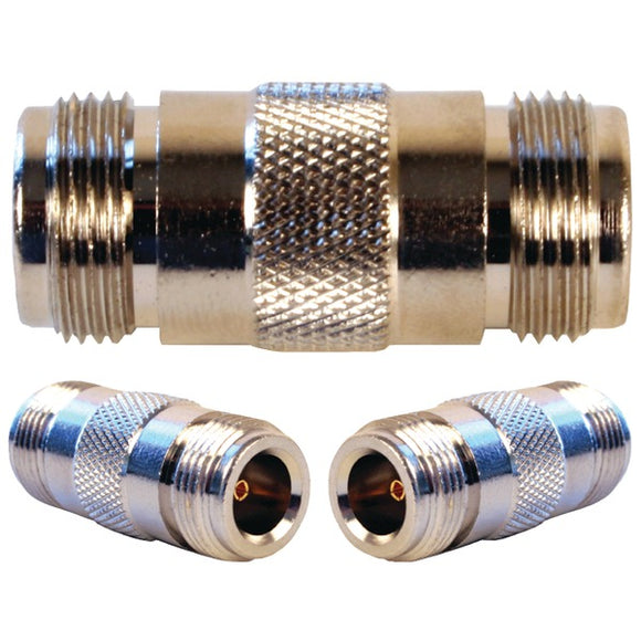 N-Female to N-Female Barrel Connector