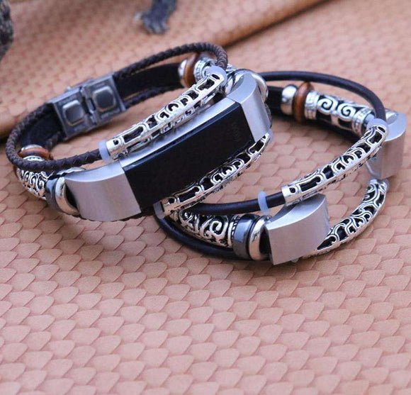 Leather Bracelet HR Strap