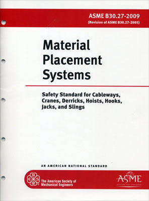 B30.27 Material Placement Systems 2014