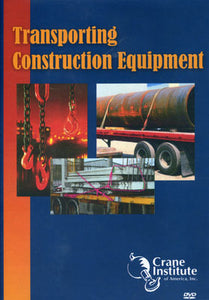 Transporting Construction Equipment DVD