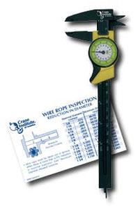 Purchase a Dial Caliper and Receive a Free Wire Rope Inspection Card