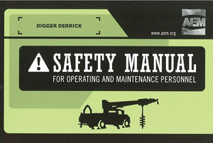 Digger Derricks Safety Manual