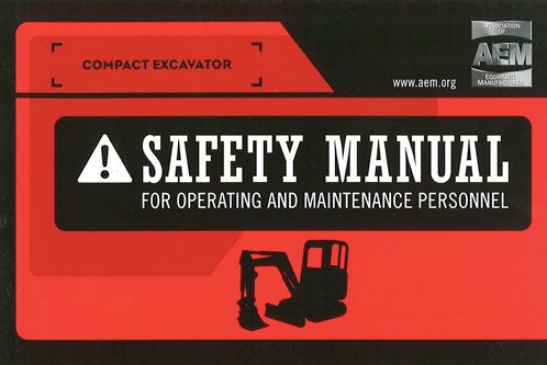 Compact Excavator Safety Manual