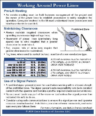 Power Line Ready Reference Card