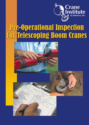 Pre-Operational Inspection for Telescoping Boom Cranes DVD