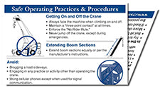 Safe Operating Practices & Procedures Reference Card
