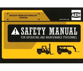 Rough Terrain Forklift Trucks Safety Manual