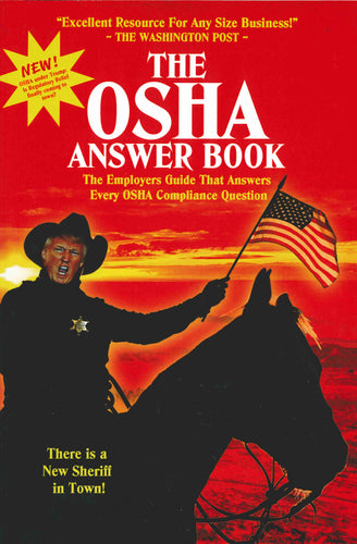 New 13th Edition The OSHA Answer Book by Mark Moran