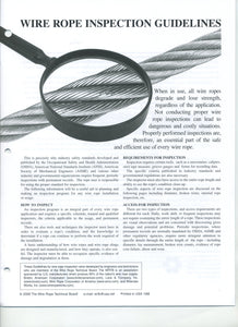 Wire Rope Inspection Guidelines