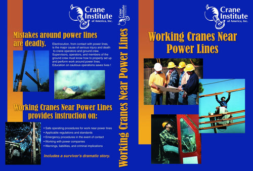 Working Cranes Near Power Lines DVD