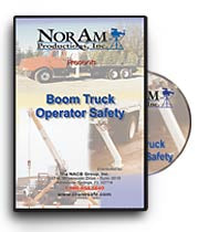 Boom Truck Operator Safety Training DVD