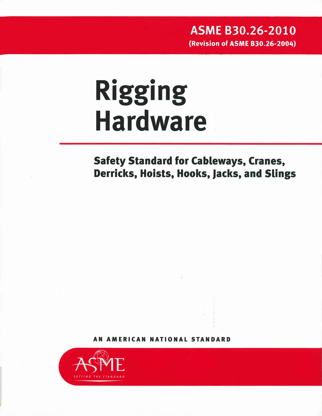 B30.26 Rigging Hardware 2015