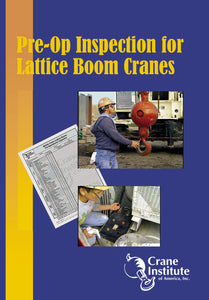 Pre-Operational Inspection for Lattice Boom Cranes DVD