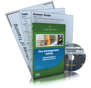 Fire Extinguisher Safety DVD