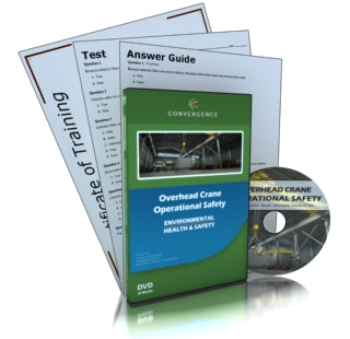 Overhead Crane Operational Safety (Spanish) DVD