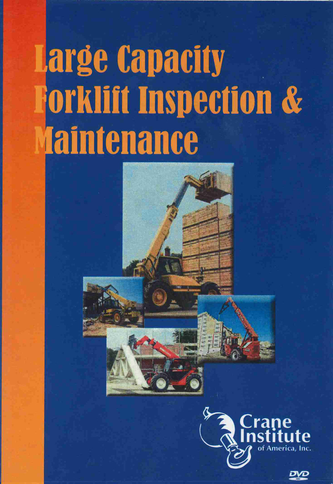 Large Capacity Forklift Inspection and Maintenance DVD
