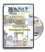 Remote Controlled Overhead Crane Safety DVD
