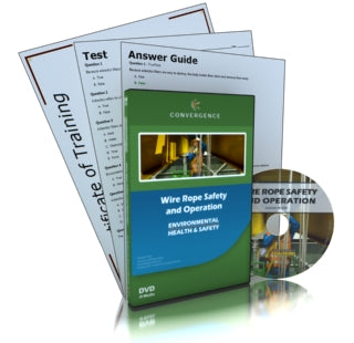 Wire Rope Safety and Operation DVD