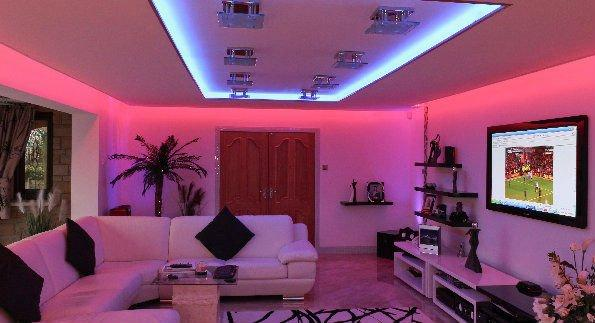 Color Changing LED Strip + Remote ( 5m )