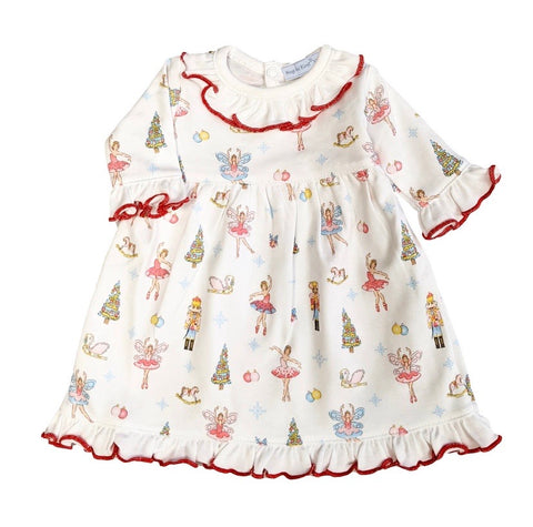 Doll nutcracker nightgown