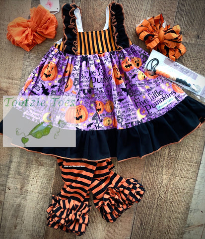5 little pumpkins Grace dress