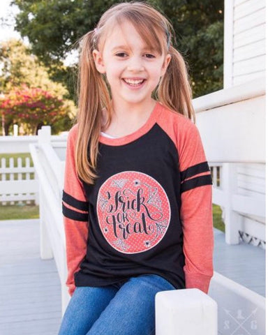 Trick or Treat ~ girls long sleeve