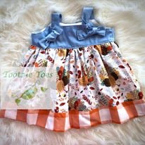 Turkey knot dress