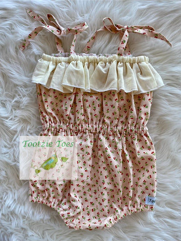 Cherries ~ Koda Romper