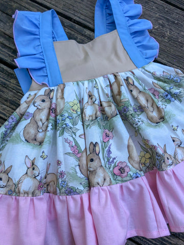 Diane Dress ~ Bunnies