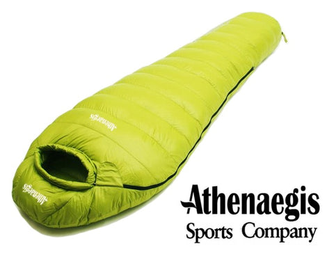 Athenaegis 1500G Mummy Ultra-Light Goose Down Sleeping Bag