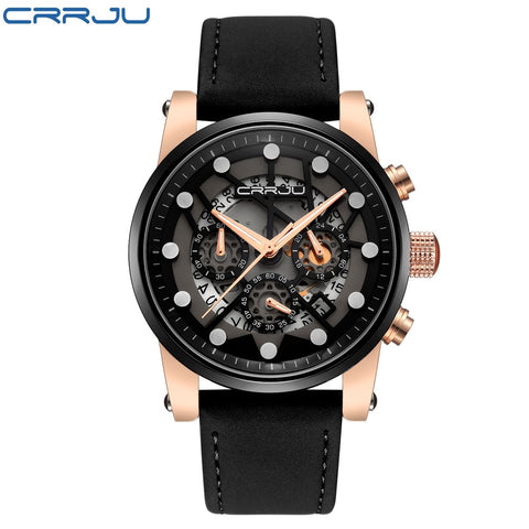 Top Brand Men's Military Aviator Quartz Watch