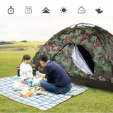 Outdoor Single Layer Camping Tent